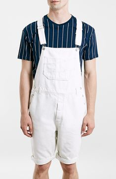Fashion Overalls + Mens Overall Shorts AKA Shortalls