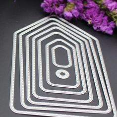 New Hot 8PCS/Set Tag Shape Frame DIY Metal Cutting Dies Stencils Scrapbook Embossing Album Paper Card Craft Decorative-in Cutting Dies from Home & Garden on Aliexpress.com | Alibaba Group