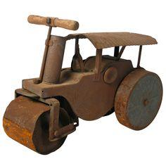 1930's Steamroller Toy