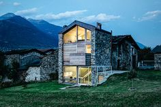 Set on the edge of the Orobic Alps, the SV House spreads its cozy space across three floors to maximize both the views and the square footage. The home was built on the remains of an old rustic structure, and...