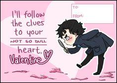 More Sherlock Valentines