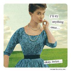 Anne Taintor love....
