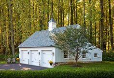 Colonial Farmhouse - traditional - garage and shed - philadelphia - Worthington Custom Builder Inc.
