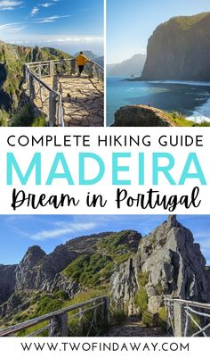 Madeira is filled with stunning hikes and walks for all types of travelers. Check our complete guide to the best hikes and walks in this Portuguese island! Madeira island is a dream destination in Portugal I Hikes and Walks in Madeira I Madeira Itinerary I Travel Guide I Travel Tips for Madeira Portugal I Best Hikes in Portugal I Wanderlust Travel Inspiration #Madeira #Portugal #travelguide #hikingguide #traveltips Travelling Europe, Road Trip Europe, Europe Travel Guide, Travel Destinations, Traveling, Portugal Vacation, Portugal Travel Guide, Hiking Guide, Travel Reviews