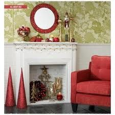 Google Image Result for http://christmasdecorated.com/wp-content/uploads/2012/11/red-and-white-christmas-mantel-ideas.jpg