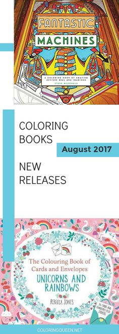 27 Best Coloring Book New Releases Images On Pinterest In 2018