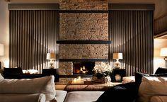 Luxury Chalets Interior Design Portfolios, Interior Design Awards, Luxury Interior Design, Best Interior, Interior Design Inspiration, Interior Architecture, Modern Interior, Design Ideas, Chalet Interior