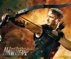 Hawkeye Customized Photo  Avengers  10x8 personalized, great gift for birthdays