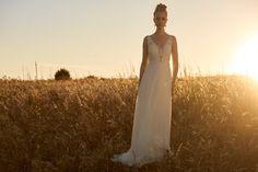 robe de mariée bohème Dentelle chic