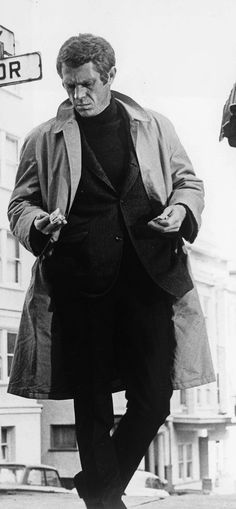 "Steve McQueen as Frank Bullitt in ""Bullitt"" (1968) I used to have this exact outfit."