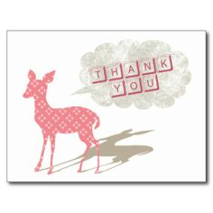 >>>best recommended          Pink Bambi Thank You Postcard           Pink Bambi Thank You Postcard you will get best price offer lowest prices or diccount couponeDeals          Pink Bambi Thank You Postcard Here a great deal...Cleck Hot Deals >>> http://www.zazzle.com/pink_bambi_thank_you_postcard-239130770666173345?rf=238627982471231924&zbar=1&tc=terrest