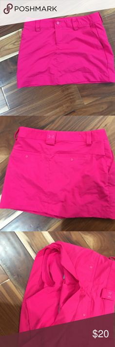 Under armour skorts Great condition. No tears or stains. Under Armour Shorts Skorts