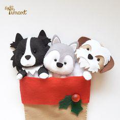 Apostila Gratuita - Bota Natalina. Adquira a sua na loja oficial (clique em visitar ou acesse www.timart.com.br) Apostila cachorrinhos vendida separadamente.