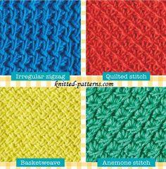 Free crochet stitches patterns