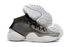 online retailer 1ba3e 60315 adidas Crazy BYW Primeknit Light Grey Black