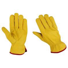 Yellow Drivers Glove  Pack of 5 Pairs