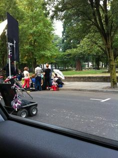 drove by portlandia filming today... Was hoping they'd ask me to be in the scene. Let down :( Photo - Lindsey Hood   Lockerz