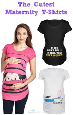 The Cutest Maternity T-Shirts | The Mama Maven Blog