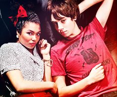 Grace and Rich from Skins UK ( favorite couple next to cassie and sid <3 )))
