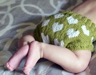 Bottom of My Heart Baby Bloomers - Craftfoxes. Free pattern