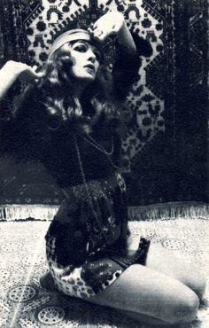 Honey magazine, April 1970: Dress by Miss Impact  (via Psychic Siamese Terror)