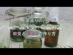 【ローズマリーの軟膏と化粧水の作り方】ハーブの使い方 若返りのハーブ How to use rosemary - YouTube Cucumber, Mason Jars, Food, Youtube, Essen, Mason Jar, Meals, Yemek, Youtubers