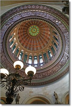 Illinois State Capitol Rotunda - View from inside