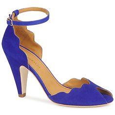 Blue heel shoes Sandales Emma Go RIONA Bleu electrique http://www.spartoo.com/Emma-Go-RIONA-x175232.php