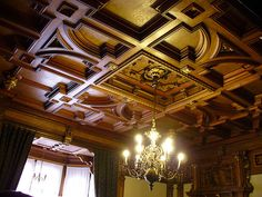 Ceiling at Peles Castle (Romania)