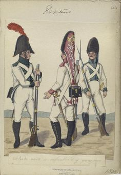 Napoleonic Military Paintings/Sketches/Uniform Plates - page 8 - Historical Discussion - Flying Squirrel Entertainment Military Art, Military History, Military Uniforms, Sun Tzu, First French Empire, Military Drawings, Age Of Empires, French Army, French Revolution