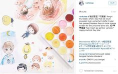 Karya : Nantokaa - feriin Tools : Simbalion Water Color Cake