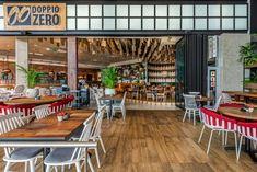 Doppio Zero restaurant design by Design Partnership. Environmental Design, Interior Photography, Hospitality Design, Design Agency, Restaurant Design, Contemporary Design, South Africa, Architecture Design, Zero