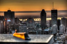 Montreal sunrise
