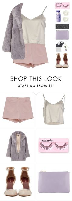 """when i fall, i fall deeper"" by tiaranurindaa ❤ liked on Polyvore featuring Retrò, Erika Cavallini Semi-Couture, TIBI, Forever 21 and Topshop"