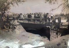 Primer puente sobre el arroyo Topo Chico y la calle Hidalgo, en San Nicolás