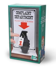 BigMouth Inc. The Complaint Department Sign | zulily