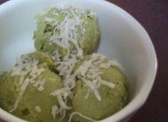 Avocado, Coconut & Lime Sorbet