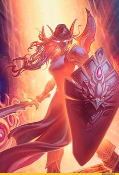 Lady Liadrin,Heroes of the Storm,Blizzard,Blizzard Entertainment,фэндомы,World of Warcraft,Warcraft,Warcraft art,HearthStone