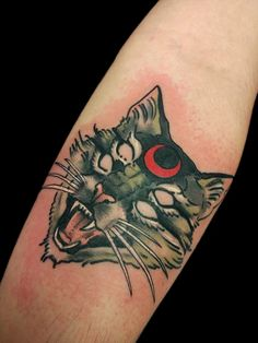 Kuvahaun tulos haulle occult cat tattoo