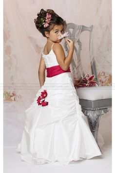 http://www.kalodress.com/wedding-party-dresses/flower-girl-dresses-2014/draped-tufted-gown-by-jordan-sweet-beginnings-collection-l290.html