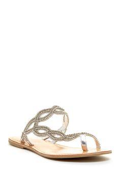 Matisse Electric Sandal (flats, footwear, shoes, summer, sparkle)