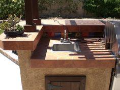 Väliköögi Tegemine Meisterdamine  Pinterest  Barbecue Gorgeous Build Your Own Outdoor Kitchen Design Inspiration