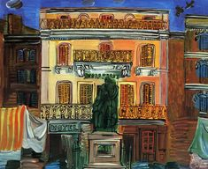 Hotel Sube by Raoul Dufy on Curiator, the world's biggest collaborative art collection. Raoul Dufy, Manet, Sgraffito, Renoir, Gaudi, Picasso, Chagall, Fauvism, Post Impressionism