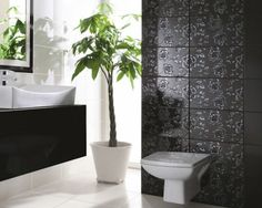 Łazienka w orientalnym stylu: http://www.kwadroceramika.com/pl/produkty/plytki_lazienkowe/tenor_tono_bianco