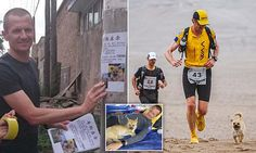 Runner looks for Gobi the dog who followed him on a marathon in China