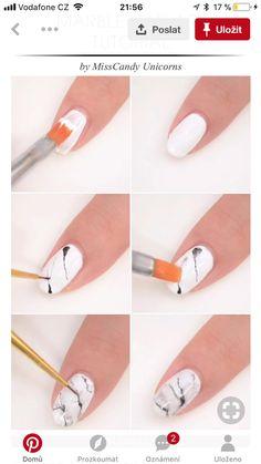 May 2020 - Marble nails Marble nails Marble Nail Designs, Marble Nail Art, How To Marble Nails, Shellac Nail Art, Diy Nails, Marble Nails Tutorial, Coffin Nails Glitter, Nail Drawing, Easy Nail Art
