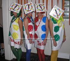 Homemade Halloween Costume Twister