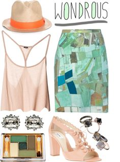 """somewhere beyond"" by misspamplemousse ❤ liked on Polyvore"