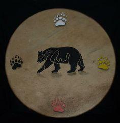 Bear Drum & Cherokee Colours