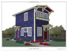 Accessory dwelling unit floor plans tiny homes on for Homes with in law units